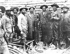 5x7 Photo- Pancho Villa with Capt. Carl von Hoffman on Set to Make a Doc Movie
