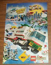 Publicidad rara sistema LEGO Town 6335 fórmula - 1-transporte-Truck 6334 6581 1997