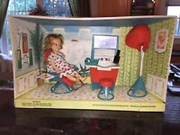 163 The World Of Penny Brite Beauty Parlor In Window Box By Topper Toys