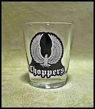 Shot Glass Choppers Eagle Wings Motorcycle New Harley Cruiser HD Road West 284