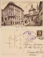 MONDOVI' - PIAZZA S.PIETRO (CUNEO) 1942 POSTA MILITARE P.M.3100