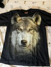 Rock Chang Wolf High Definition Double Sided T-Shirt Medium Short Sleeve