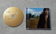 """CD AUDIO MUSIQUE / CALI """"L'ESPOIR"""" CD ALBUM 14 TRACKS 2008 VIRGIN 509995184402"""