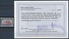 DSW 5 Mark Kaiseryacht 1906 gute Type Michel 32 A b Befund (S14998)