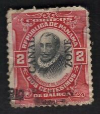 U.S. Scott # 27 US Canal Zone Stamp Fernandez de Cordoba 1909 Overprint  Used