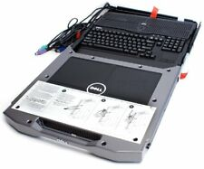 Dell 17FD Mountable LCD Console P/N: PDJCN - LCD, Rails