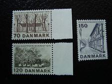 DANEMARK - timbre - Yvert et Tellier n° 598 a 600 n** (A3) stamp denmark