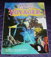 DOCTOR WHO  VOYAGER  MARVEL GRAPHIC NOVEL  1985  SHARP TIGHT COPY