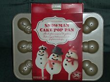 Williams Sonoma Snowman Cake Pop Mold Pan & Sticks NIP