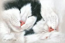 Two Pink Noses Print from an Original by I Garmashova