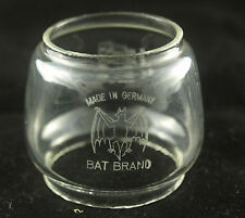 BAT OIL LAMP CHIMNEY GLASS CHIMNEY PARAFFIN LAMP GLASS VINTAGE LAMP GLASS