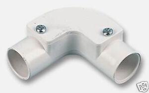 PVC Conduit inspection elbow 20mm      ELB020
