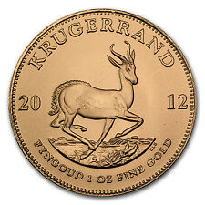2012 South Africa 1 oz Gold Krugerrand - SKU #65198