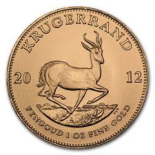 2012 1 oz Gold South African Krugerrand Coin - SKU #65198