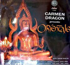 CARMEN DRAGON/CAPITOL SYMPHONY orientale LP33T VG++