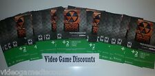 Qty 30 - 2 Day Xbox Live Gold Trial w/ Nuketown 2025 Xbox 360 - WHOLESALE RESELL