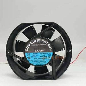 1Pcs COMAIR ROTRON JQD24B6E1 24V 1.0A 17CM 17251 Inverter Cooling Fan 2-wire