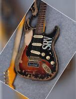 "SRV Electric Guitar Vintage Custom Shop Stevie Ray Vaughan 39"" -Original Quality"