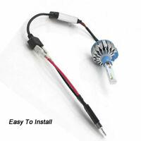 2x Car H1 HID Xenon faro lampadina  luce LED adattatore convertitore Cablaggio