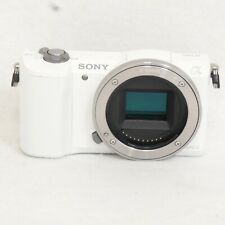 Sony Alpha a5000 Mirrorless Digital Camera Body White ILCE5000/W