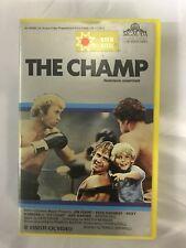 The Champ Ex-Rental Vintage Big Box VHS Tape English dutch subs