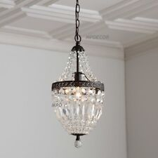 Country chandeliers and ceiling fixtures ebay elegant mini chandelier pendant french country vintage style fixture light 18h aloadofball Image collections