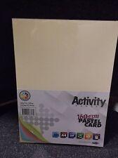 Premier Cancelleria a4 160 GSM Carta attività-Rainbow Colori Pastello Confezione da 50 FOGLI