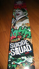 DC Comics Joker Suicide Squad Cane Movie Replica w European Crystals & FREE GIFT