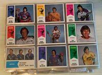 "1974-75 O PEE CHEE WHA Hockey Complete Set NM: ""The Howes, Bobby Hull  NICE SET!"