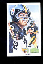 1991 Legends Magazine TERRY BRADSHAW Pittsburgh Steelers Jumbo Cover Insert Card