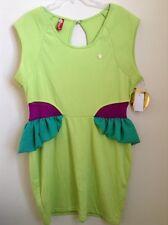 Apple Bottoms Plus Size 1x Green Peplum Dress Elegant Sundress New Msrp $69.00