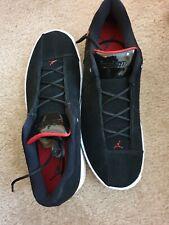 JORDAN AIR MENS TE 2 LOW SNEAKER ELITE BLACK GYM RED. SIZE 12 UK