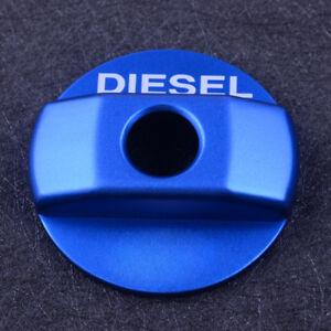 Fit for Land Rover Defender 90 110 16 Blue Aluminum Diesel Tank Cap Trim Sticker