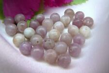 Natural Lilac Jasper gemstone, Round beads, 3 Sizes available:  4mm, 6mm, 8mm