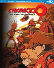 CYBORG 009: THE CYBORG SOLDIER COMPLETE SERIES SDBD (Blu Ray) Official Release