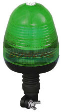 12V/24V FLEXI POLE SPIGOT MOUNT LED FLASHING GREEN BEACON LMB040 LAP ELECTRICAL