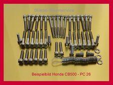HONDA CB 500 pc26 viti viti in acciaio inox set di viti VITI MOTORE