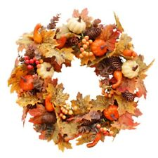 Artificial Wreath Garland Rattan NEW Thanksgiving Autumn Holiday Decorations