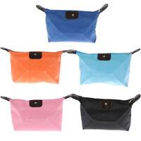Travel Cosmetic Bag  Makeup Case Handbag Organizer Storage Pouch PurYT