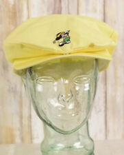 Vintage Disney Mickey Mouse Cabbie Golf Newsboy Cap Hat Size One Size Fits All