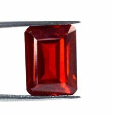Grenat spessartite naturel du Nigéria de 11 carats avec certificat.
