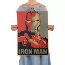 Iron Man Poster Mark 6 Industries Wandbild Avengers Plakat Film Vintage Portait