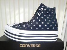 NUOVO All Star Converse CT Piattaforma Hi Scarpe da ginnastica Donna Regno Unito misura 5
