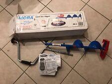 "Mora Strikemaster 2 pc Adjustable Hand Ice Auger Fishing 48-57"" MD-8 inch Sweden"