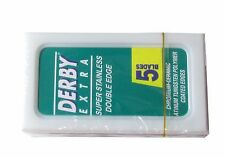 100 Derby Extra double edge razor blades