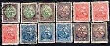 Latvia 1920 stamps Mi#42-45A MH/used CV=12€