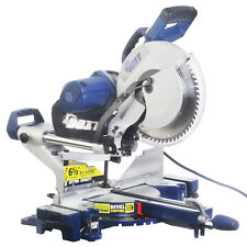 12-Inch Dual Bevel Sliding Compound Miter Saw with Laser and LED Work Light