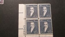 US Scott #1292   Mint-OG/NH  XF  1968   40c  Blue Black  Plate Block Of 4