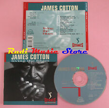 CD JAMES COTTON Living the blues 1994 france GITANES JAZZ VERVE(Xs8) lp mc dvd
