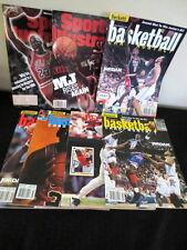 Michael Jordan Sports Illustrated, Beckett Magazine Lot(7) Bulls/USA/Carolina